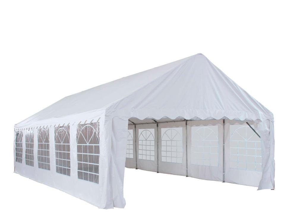 Tente De Reception Chapiteau Barnum 5x10m En Pvc Classic